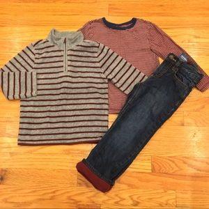 Old Navy Bundle Fleece Lined Pants, Fleece, Shirt